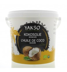 Yakso Kokosolie geurloos 2500 ml | € 16.88 | Superfoodstore.nl