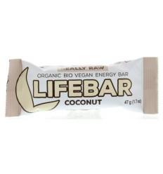 Lifefood Lifebar kokos bio 47 gram | € 1.85 | Superfoodstore.nl