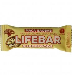 Lifefood Lifebar plus berry maca baobab bio 47 gram | € 1.87 | Superfoodstore.nl