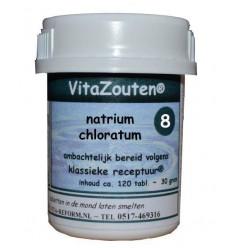 Vitazouten Natrium chloratum/mur.VitaZout Nr. 08 120 tabletten   € 6.77   Superfoodstore.nl