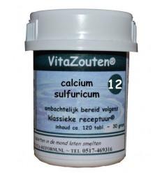 Vitazouten Calcium sulfuricum VitaZout Nr. 12 120 tabletten   € 6.77   Superfoodstore.nl