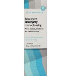 Leidapharm Zoutoplossing 15 ml | € 2.39 | Superfoodstore.nl