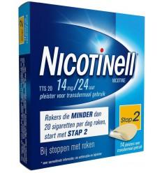 Nicotinell TTS20 14 mg 14 stuks | € 40.60 | Superfoodstore.nl