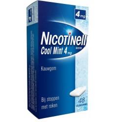 Nicotinell Kauwgom cool mint 4 mg 48 stuks | € 16.09 | Superfoodstore.nl
