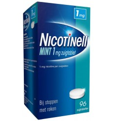 Nicotinell Mint 1 mg 96 zuigtabletten | € 29.13 | Superfoodstore.nl