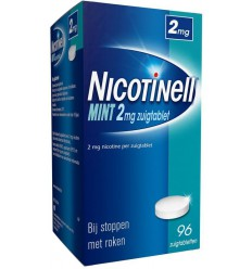 Nicotinell Mint 2 mg 96 zuigtabletten | € 29.13 | Superfoodstore.nl