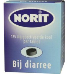 Norit 125 mg 180 tabletten | € 10.72 | Superfoodstore.nl
