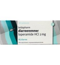 Leidapharm Loperamide 2 mg 10 capsules | € 1.03 | Superfoodstore.nl