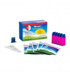 Swisspoint Care Cholesterolmeter 3-in-1 5 x strip capillair lancet 1 set | € 18.23 |
