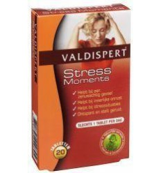 Valdispert stress moments 20 tabletten | € 9.67 | Superfoodstore.nl
