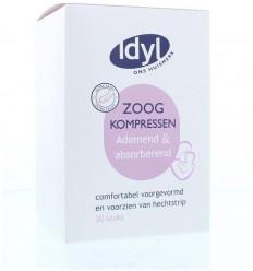 Idyl Zoogkompressen ademend 30 stuks | € 2.05 | Superfoodstore.nl