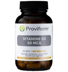 Proviform Vitamine D3 50 mcg 100 vcaps | € 15.93 | Superfoodstore.nl