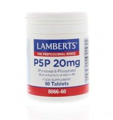 Lamberts Vitamine B5 (P5P) 20 mg 60 tabletten | € 12.67 | Superfoodstore.nl