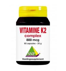 SNP Vitamine K2 complex 800 mcg 60 capsules | € 51.90 | Superfoodstore.nl