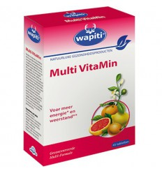 Wapiti Multi vitamin 45 tabletten | € 12.14 | Superfoodstore.nl