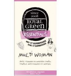 Royal Green Multi woman 120 tabletten | € 49.35 | Superfoodstore.nl