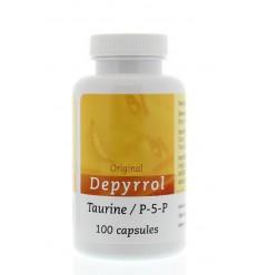 Depyrrol Taurine P5P 5 mg 100 capsules | € 24.60 | Superfoodstore.nl