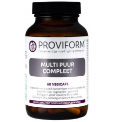 Proviform Multi puur compleet 60 vcaps | € 18.60 | Superfoodstore.nl