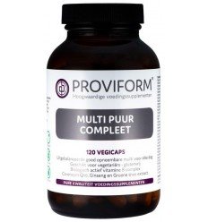 Proviform Multi puur compleet 120 vcaps | € 32.59 | Superfoodstore.nl