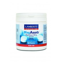 Lamberts MagAsorb (magnesium citraat) 150 mg 180 tabletten | € 34.36 | Superfoodstore.nl