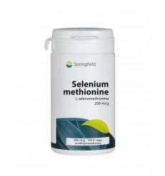 Springfield Selenium methionine 200 100 capsules | € 15.16 | Superfoodstore.nl
