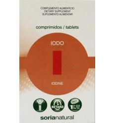 Soria Iodo jodium retard 150 mcg 48 tabletten   € 8.90   Superfoodstore.nl