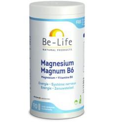 Be-Life Mg magnum & B6 90 capsules   € 17.58   Superfoodstore.nl