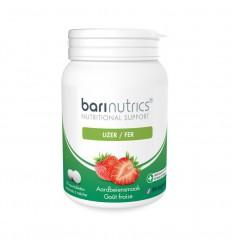Barinutrics IJzer aardbei 90 tabletten | € 18.47 | Superfoodstore.nl