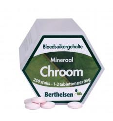 Berthelsen Chroom 250 tabletten   € 11.89   Superfoodstore.nl