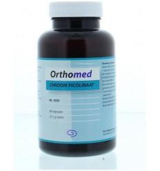 Orthomed Chroom picolinaat 90 capsules   € 11.90   Superfoodstore.nl