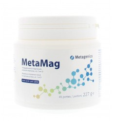 Metagenics Metamag perzik NF 227 gram | € 26.49 | Superfoodstore.nl