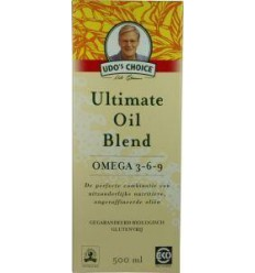 Udo's Choice Ultimate oil blend eko 500 ml | € 24.64 | Superfoodstore.nl