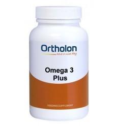 Ortholon Omega 3 plus 120 softgels | € 36.71 | Superfoodstore.nl