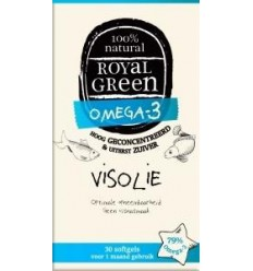 Royal Green Omega 3 visolie 30 softgels | € 13.74 | Superfoodstore.nl