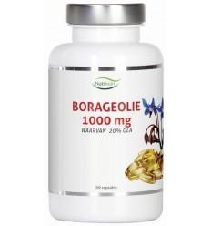 Nutrivian Borage olie 1000 mg 60 capsules | € 17.75 | Superfoodstore.nl