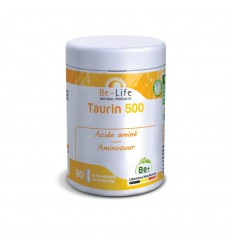 Be-Life Taurin 500 90 softgels | € 14.02 | Superfoodstore.nl