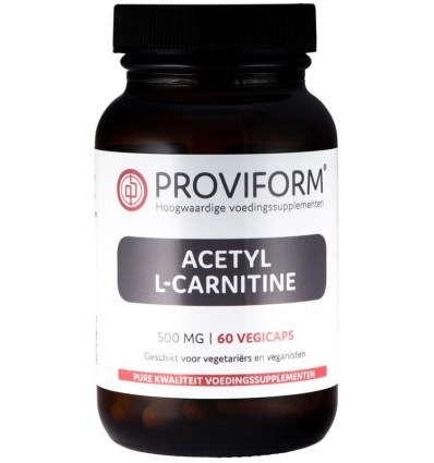 Proviform Acetyl L-carnitine 500 mg 60 vcaps | € 17.05 | Superfoodstore.nl