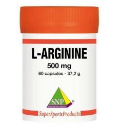 SNP L-arginine 500 mg puur 60 capsules   € 22.89   Superfoodstore.nl