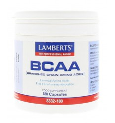 Lamberts BCAA Complex 180 capsules | € 38.35 | Superfoodstore.nl