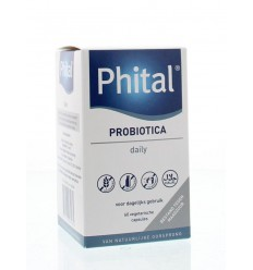 Phital Probiotica daily 60 capsules   € 19.89   Superfoodstore.nl