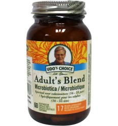 Udo's Choice Adult blend probiotica 60 capsules | € 25.85 | Superfoodstore.nl