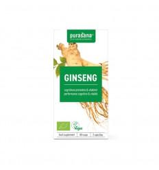 Purasana Bio ginseng 300 mg 80 vcaps | € 17.21 | Superfoodstore.nl