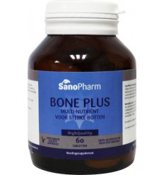 Sanopharm Bone plus high quality 60 tabletten | € 21.85 | Superfoodstore.nl
