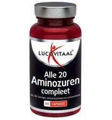 Lucovitaal Aminozuur & vitamine B6 60 capsules   € 17.89   Superfoodstore.nl