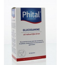 Phital Glucosamine 60 tabletten | € 13.66 | Superfoodstore.nl