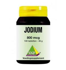SNP Jodium 800 mcg + Q10 100 tabletten | € 25.55 | Superfoodstore.nl