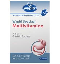 Wapiti Speciaal multivitamine 60 capsules | € 12.00 | Superfoodstore.nl