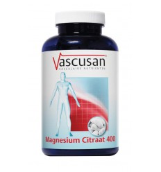 Vascusan Magnesium citraat 400 200 tabletten | € 24.14 | Superfoodstore.nl