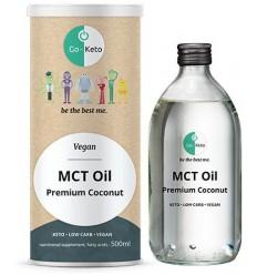 Go Keto MCT 60 C8/40 C10 500 ml | € 13.88 | Superfoodstore.nl