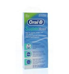 Oral B Floss super regular 50 stuks | € 2.93 | Superfoodstore.nl